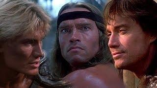 Мужские фильмы 80-х: Конан варвар, Рыжая Соня, Властелины вселенной