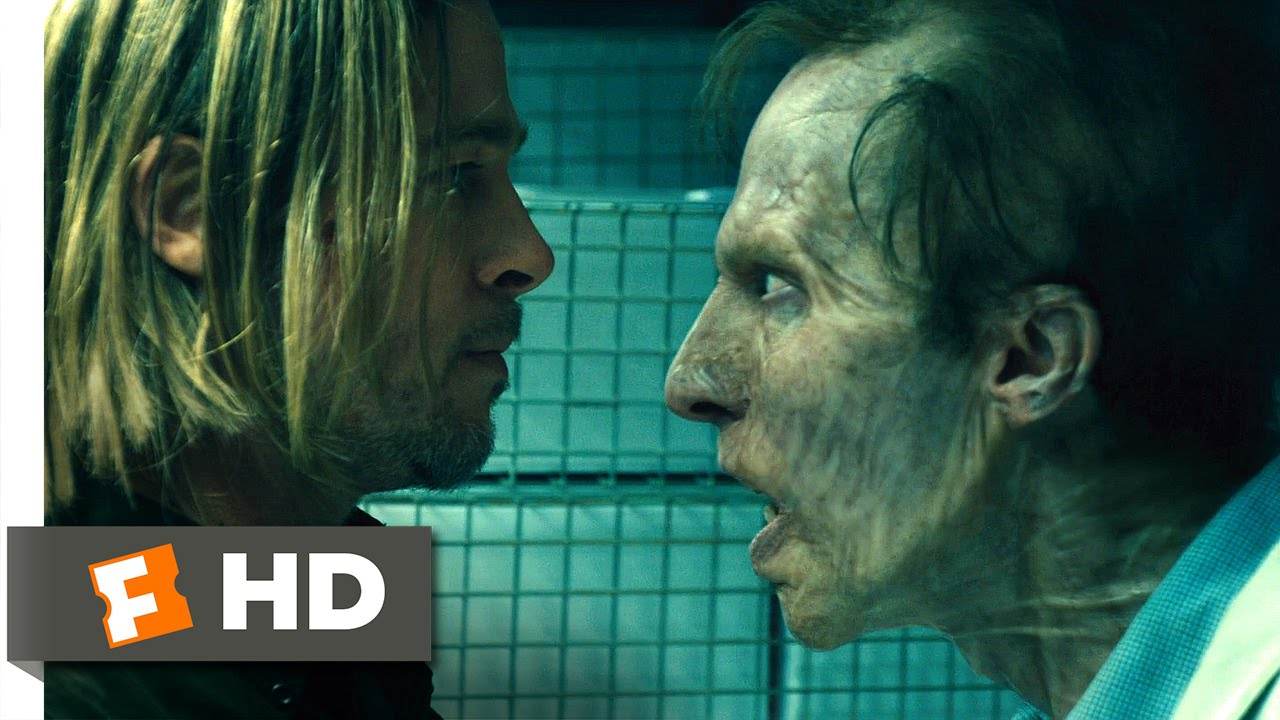 World War Z (9/10) Movie CLIP - Zombie Camouflage (2013) HD