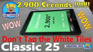 Don't Tap the White Tile (Piano Tiles) - World Record - 2.900 Classic Gameplay