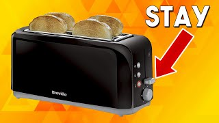 Toaster Lever Won't Stay Down …