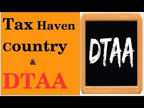 Tax Haven Country And Double Tax Avoidance Agreement In Hindi