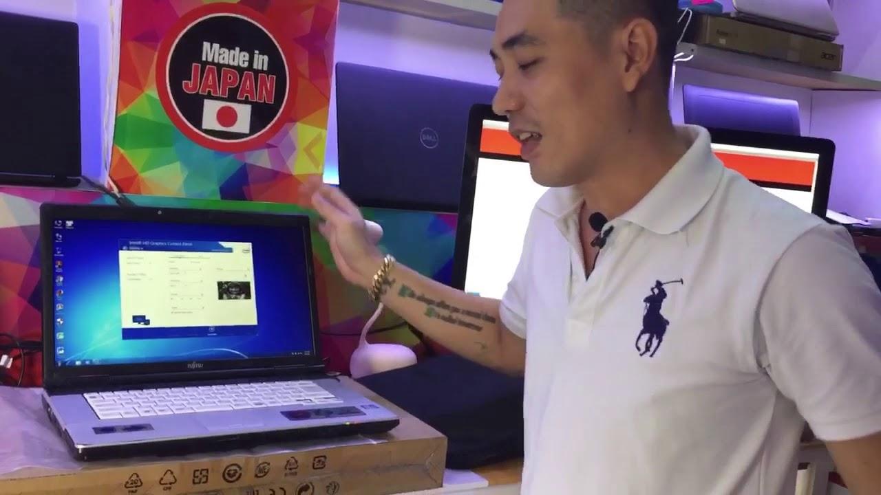 Laptop hàng độc- Fujitsu FMV