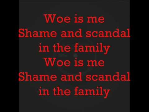 Shame and Scandal in the Family by Shawn Elliot (with lyrics)