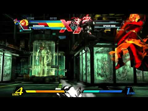 Ultimate Marvel vs Capcom 3 playthrough_M.O.D.O.K/Nemesis/Dormammu |