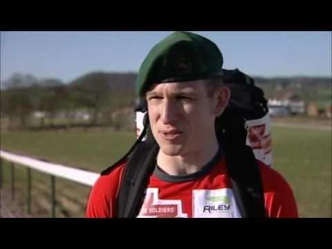 Lee Riley Video 5   Royal Marine World Record Marathon Training