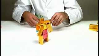 Magnetic Wooden Toys From Tegu - Building Dora The Explorer