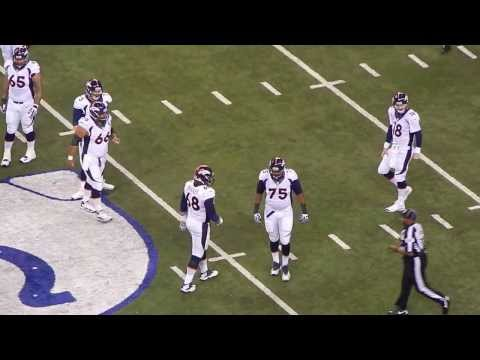 The First Drive of Denver Broncos (Oct.20,2013 @Lucas Oil Stadium, vs Indianapolis Colts)