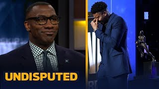 Download 'It was a great moment': Shannon Sharpe on Giannis winning MVP & emotional speech | NBA | UNDISPUTED Mp3 and Videos