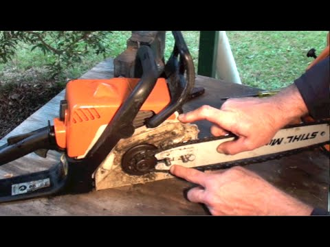 Chainsaw training daily maintenance pt 1 youtube 159 greentooth Images
