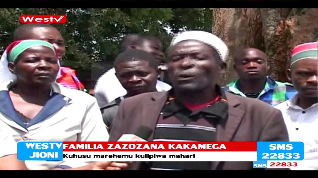 Mzozo wa mahari Kakamega