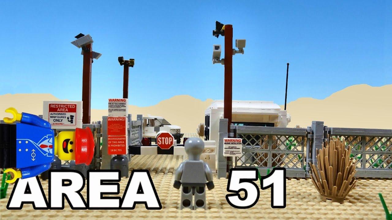 The Lego ALIEN Finally Arrives At AREA 51 Lego City