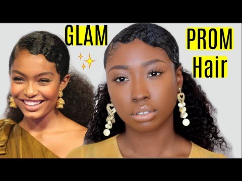 Prom Hair: Yara Shahidi Finger wave Hairstyle Tutorial