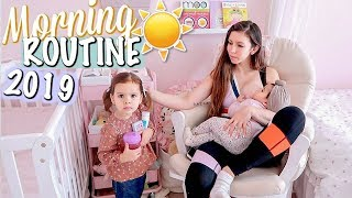 MOMMY MORNING ROUTINE 2019 (BABY AND TODDLER)