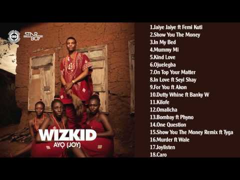 Wizkid Ayo Joy Full Album Official Video   YouTube