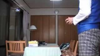 ●ミニ・ヘリコプターを飛ばす(2010-5-3) 小町桃子 動画 28
