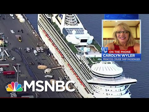 "Grand Princess Passenger: ""It's Very Concerning For Us"" | Velshi & Ruhle | MSNBC"