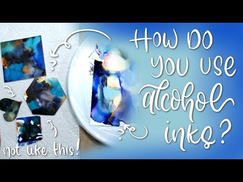July Sampler Reveal | How to Alcohol Inks tutorial? How to Not!