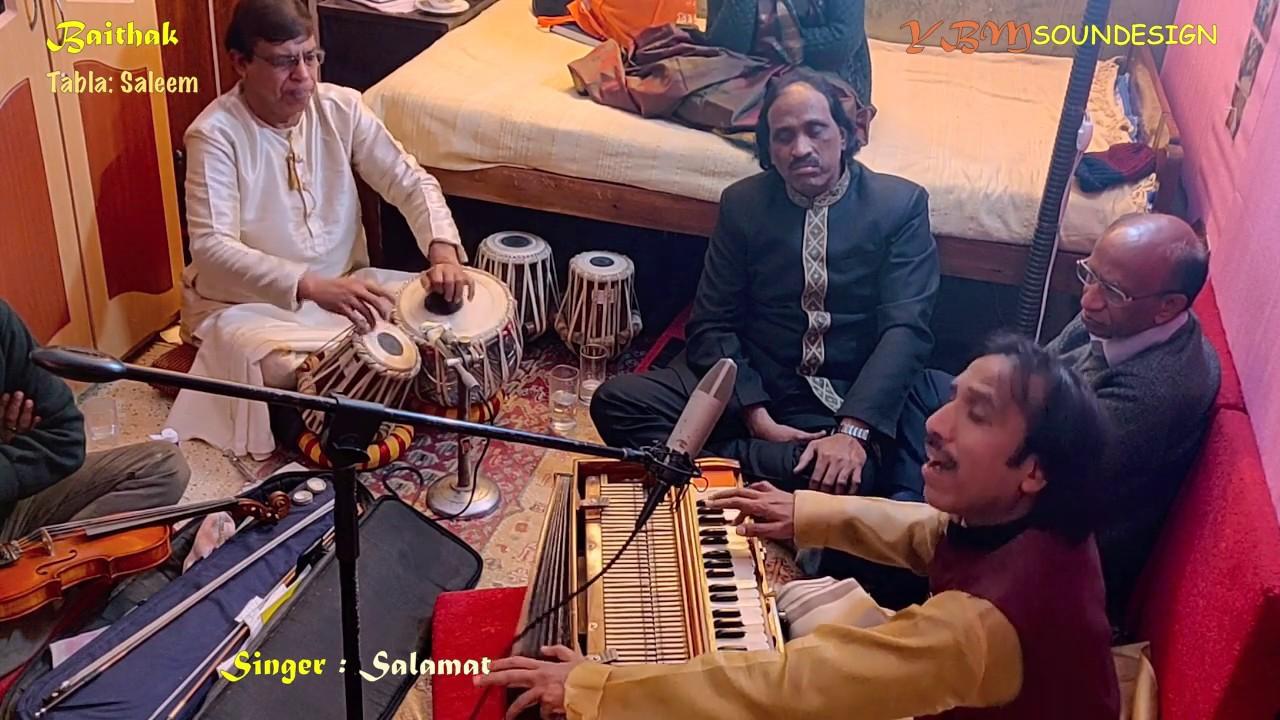 Download Sufiana Punjabi Ghazal ft. Salamat Ali Khan | YBM Soundesign BAITHAK Series
