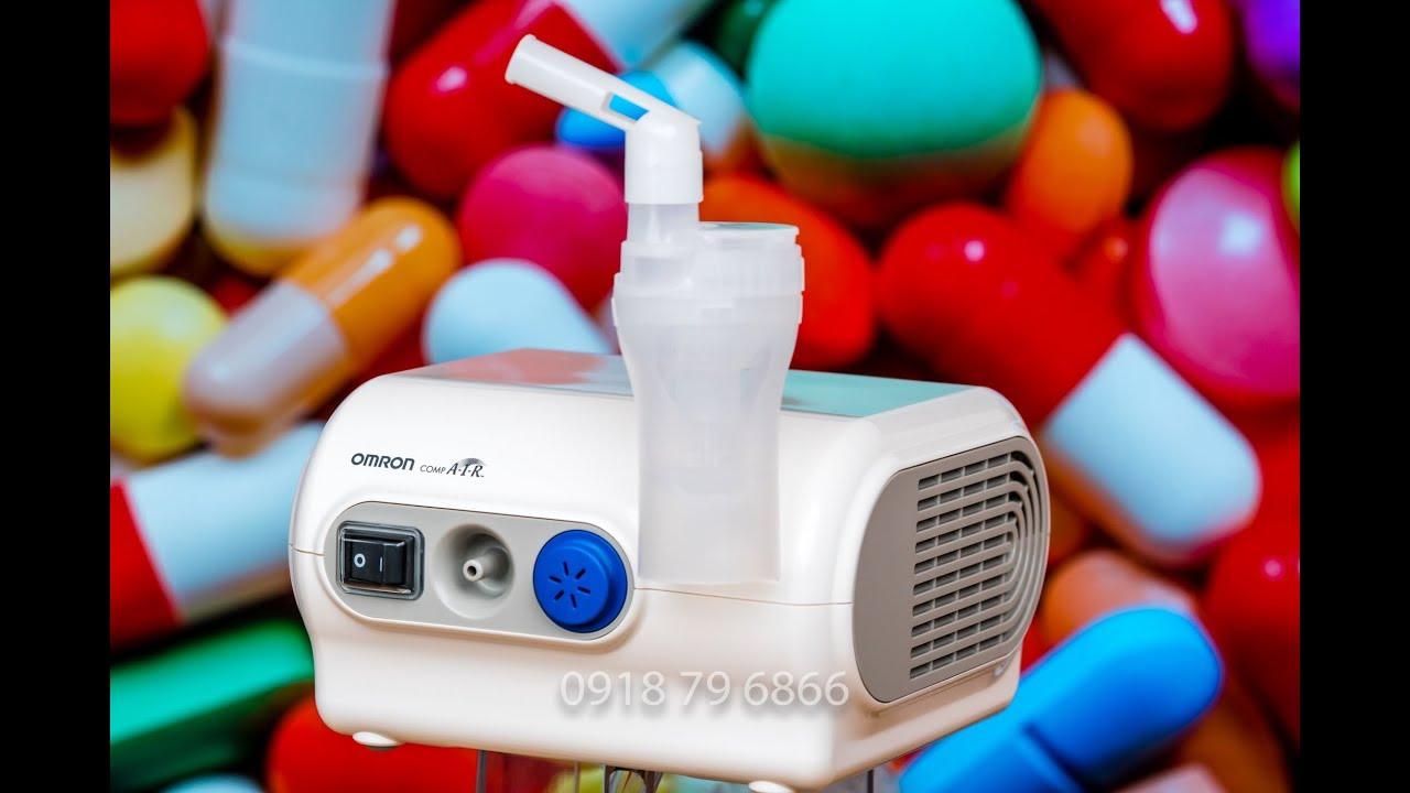 Hướng dẫn sử dụng máy xông mũi họng Omron NE-C28 (compair compressor nebulizer) Cucai TV