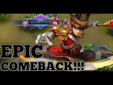 EPIC COMEBACK | HARLEY FULL GAME PLAY BY ALIIIK | MOBILE LEGENDS