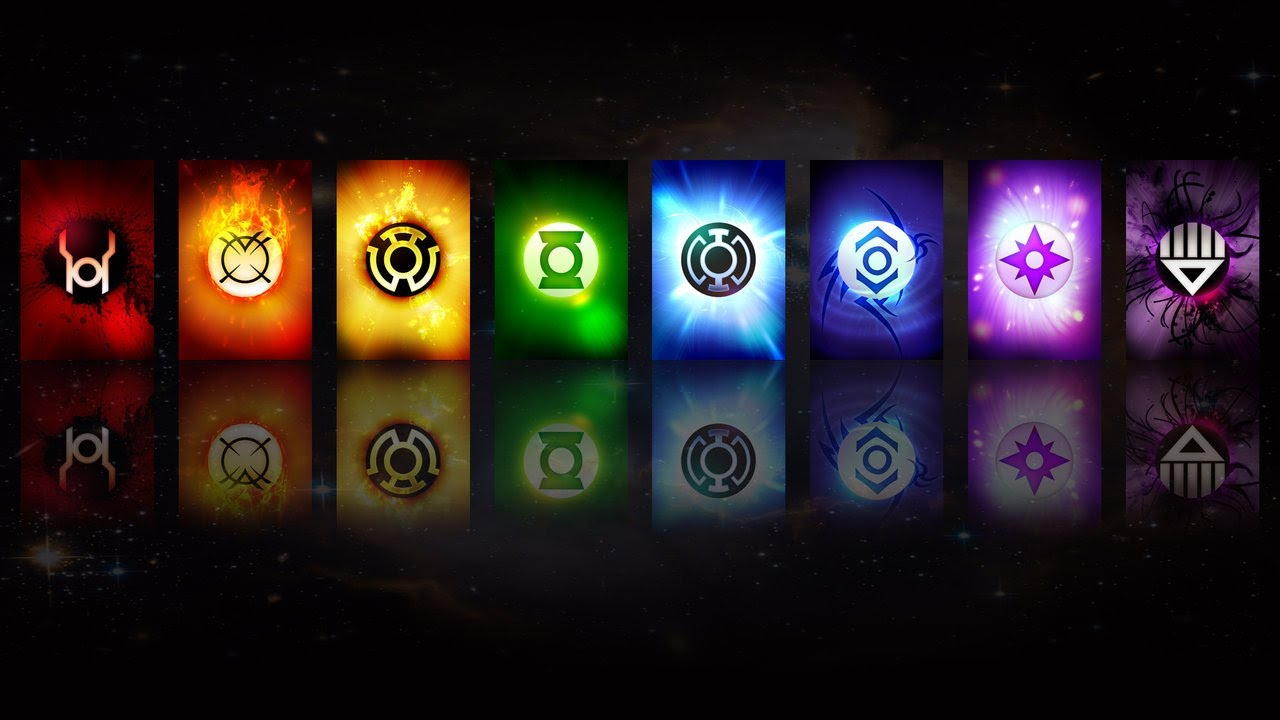 All Lantern Corps Oaths - YouTube