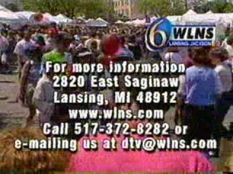 End of Analog TV Broadcasting - WLNS-TV Ch 6 - Digital Transition