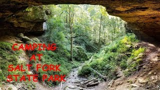 CAMPING AT SALT FORK STATE PARK IN OHIO