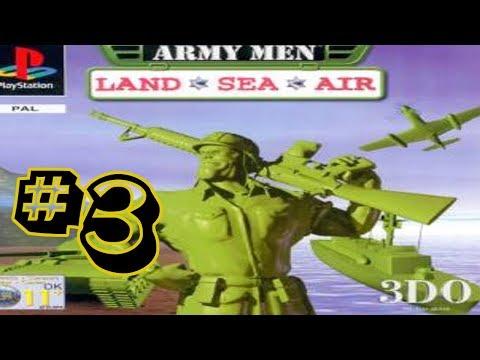 Army Men Land, Sea & Air #3 - Sarge Ain't Stealthy