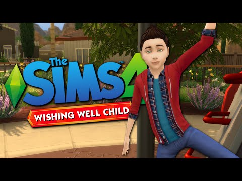 WISHING WELL CHILD - The Sims 4 Funny Highlights #73 |