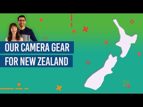Our Camera Gear for New Zealand Travel