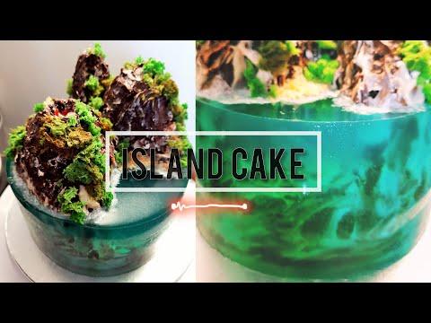 island-cake-en-français-😃🌹