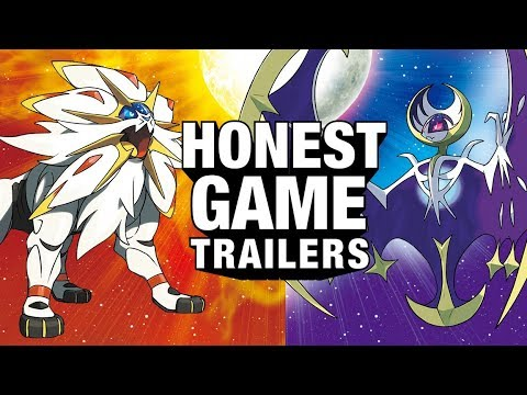 POKEMON SUN & MOON (Honest Game Trailers)