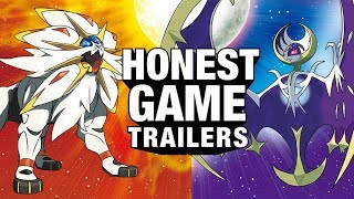 POKEMON SUN & MOON (Honest Game Trailers)