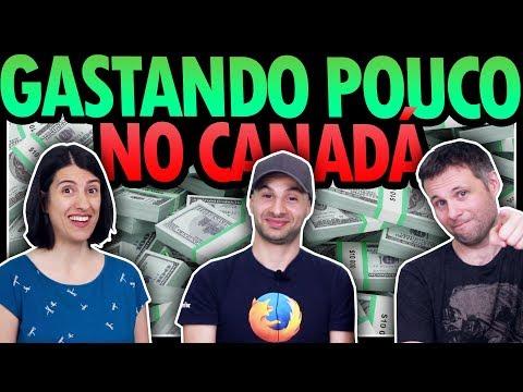 COMO VIAJAR PARA O CANADÁ GASTANDO POUCO