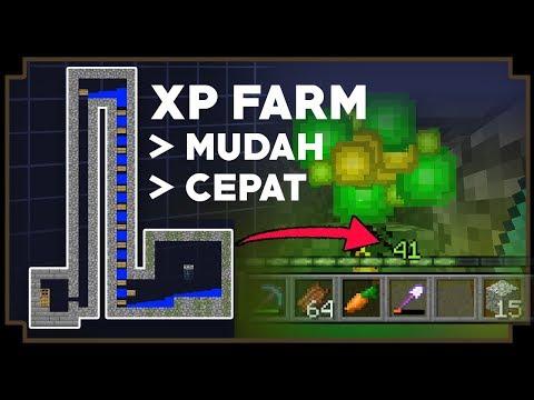 CARA MEMBUAT XP FARM - Minecraft Tutorial