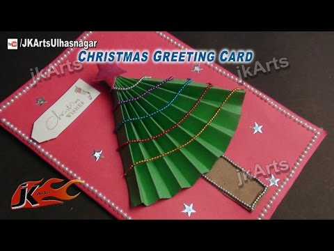 How To Make Christmas Greeting Card | Easy DIY Paper Crafts