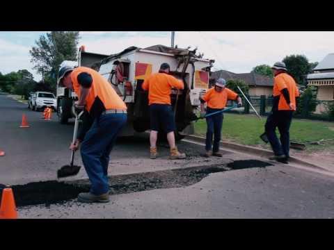 Utility Cut Repair, Corangamite Shire, AU