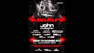 Simon Patterson - Live @ Subculture, Digital Society, Leeds, UK (07.11.14)