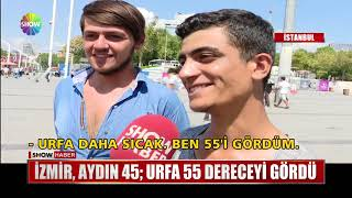 İzmir, Aydın 45; Urfa 55 dereceyi gördü