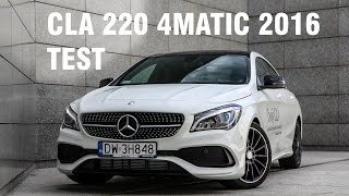 Mercedes-Benz CLA 220 4MATIC 2016 Facelift TEST PL