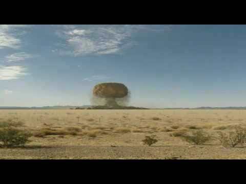 Nevada desert nuclear test