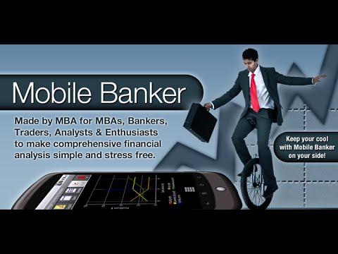 Must-have app for MBAs - Mobile Banker BlackBerry App Video