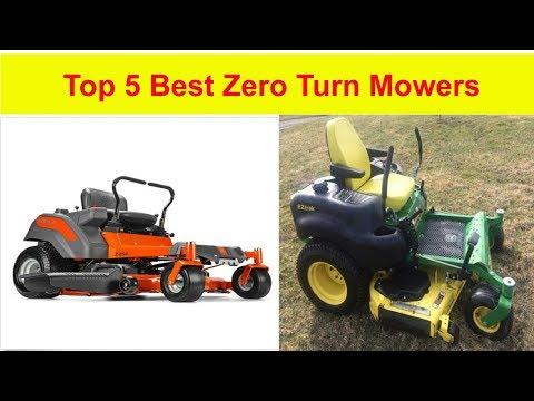 Top 5 best zero turn mowers in 2019