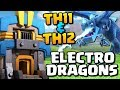 ELECTRO DRAGONS at TH11 & TH12   New Troop Attack Strategy   Clash of Clans