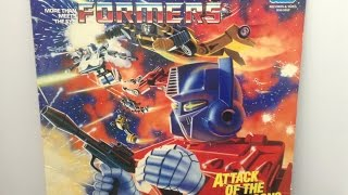 The Transformers - Attack of the Decepticons (1985) [Record transfer]