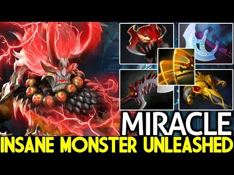 MIRACLE [Juggernaut] Insane Monster Unleashed Madness Slash Dota 2  