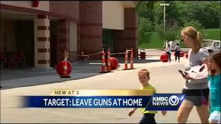 Target asks shoppers to leave guns at home
