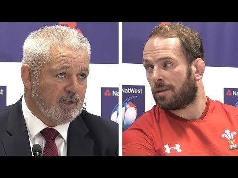 Warren Gatland & Alu Wyn Jones Full Pre-Match Press Conference - Wales vs Scotland - Six Nations
