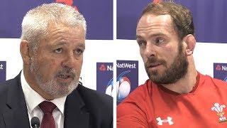 Warren Gatland & Alu Wyn Jones Full Pre-Match Press Conference - Wales vs Scotland - Six Nations