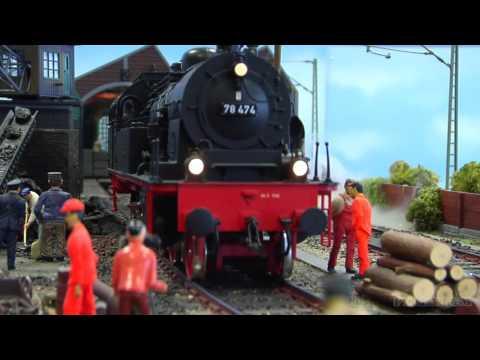 The Litte Railway Depot or Locomotive Depot or Motive Power Depot in 1 Scale
